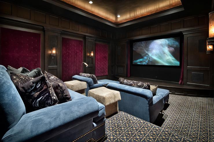 4 conseils pour am nager une salle de cin ma maison 1er site immobilier entre. Black Bedroom Furniture Sets. Home Design Ideas